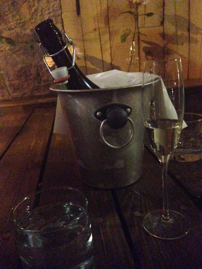 Lol, just kidding, I would never waste Prosecco like that.