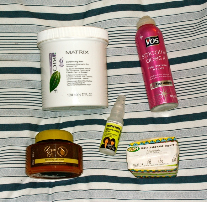 curly hair care products